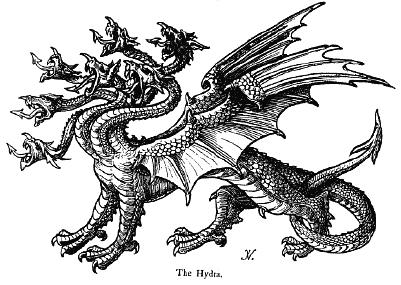 Lernaean Hydra   Parapedia Wiki   FANDOM powered by Wikia Greek Mythology Hydra