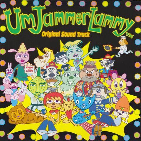 File:Um Jammer Lammy Original Soundtrack cover.jpg