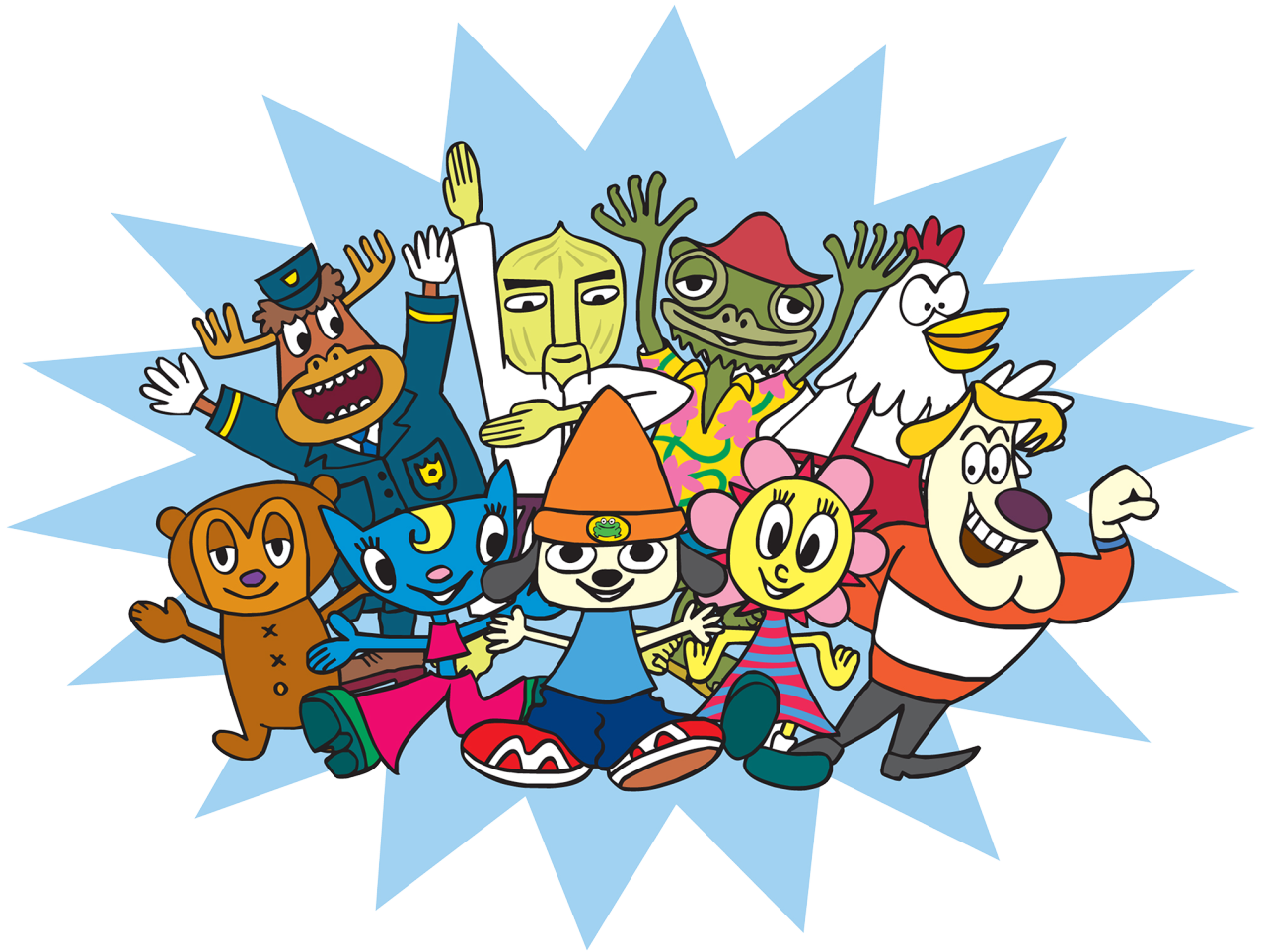 characters parappa the rapper wiki fandom powered by wikia