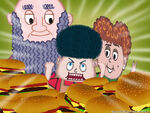 Burgers Burgers Burgers wallpaper 1024x768