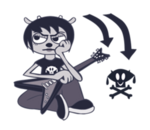 Line Sticker Lammy 37