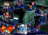 Noodle Lair stairs wallpaper 1024x768