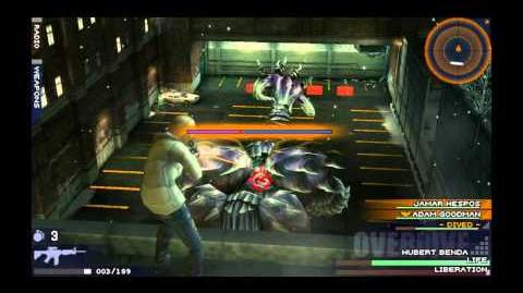 Parasite Eve The 3rd Birthday - Helix Boss (Second Fight - Normal)
