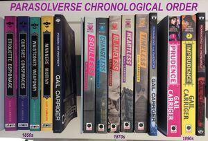 All Books Chronological Order 2017