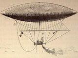 Giffard-style steam-powered airship
