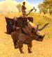 Dustrider Triceratops