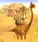 Dustrider Brachiosaurus Catapult