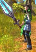 Dragon Clan Ice Spearman