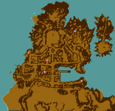 The Holy City Minimap