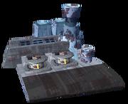 Smelting facility big
