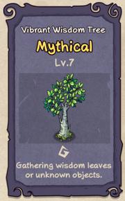 7 - Vibrant Wisdom Tree