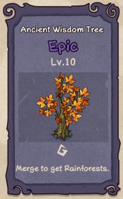 10 - Ancient Wisdom Tree