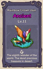 11 - Rainbow Crown Vain