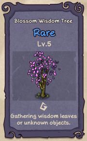 5 - Blossom Wisdom Tree