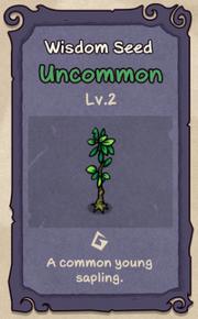 2 - Wisdom Seed