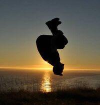 Sunset Backflip