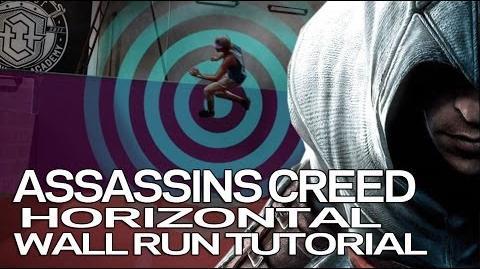 Assassins Creed Horizontal Wall Run - Parkour Tutorial (Jesse La Flair)