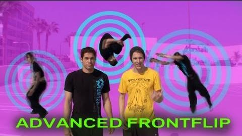 ADVANCED FRONT FLIP TUTORIAL - Gather step ( Jesse La Flair )