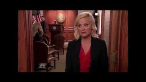 Parks and Recreation - Leslie Boob Grab