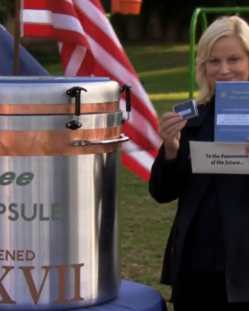 time capsule parks and recreation wiki fandom