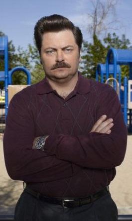 Ron swanson dating