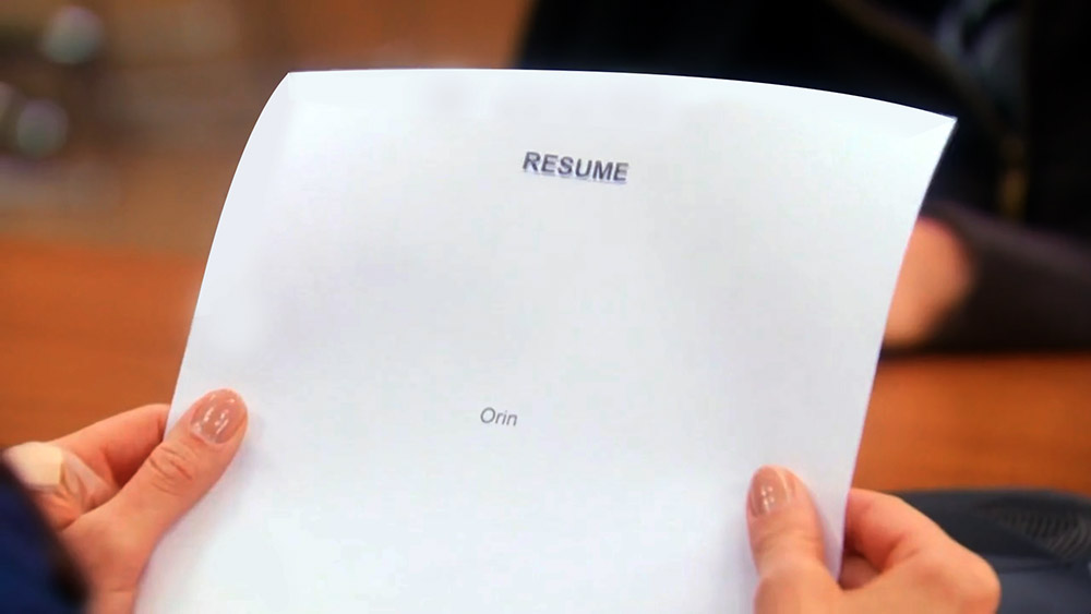 image orin s resume edit jpg parks and recreation wiki