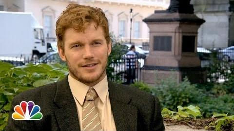 Chris Pratt Takes London by Storm - Parks and Recreation