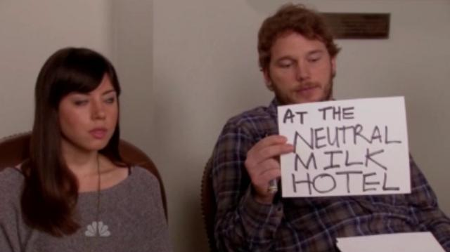 Parks and Recreation Neutral Milk Hotel Shout