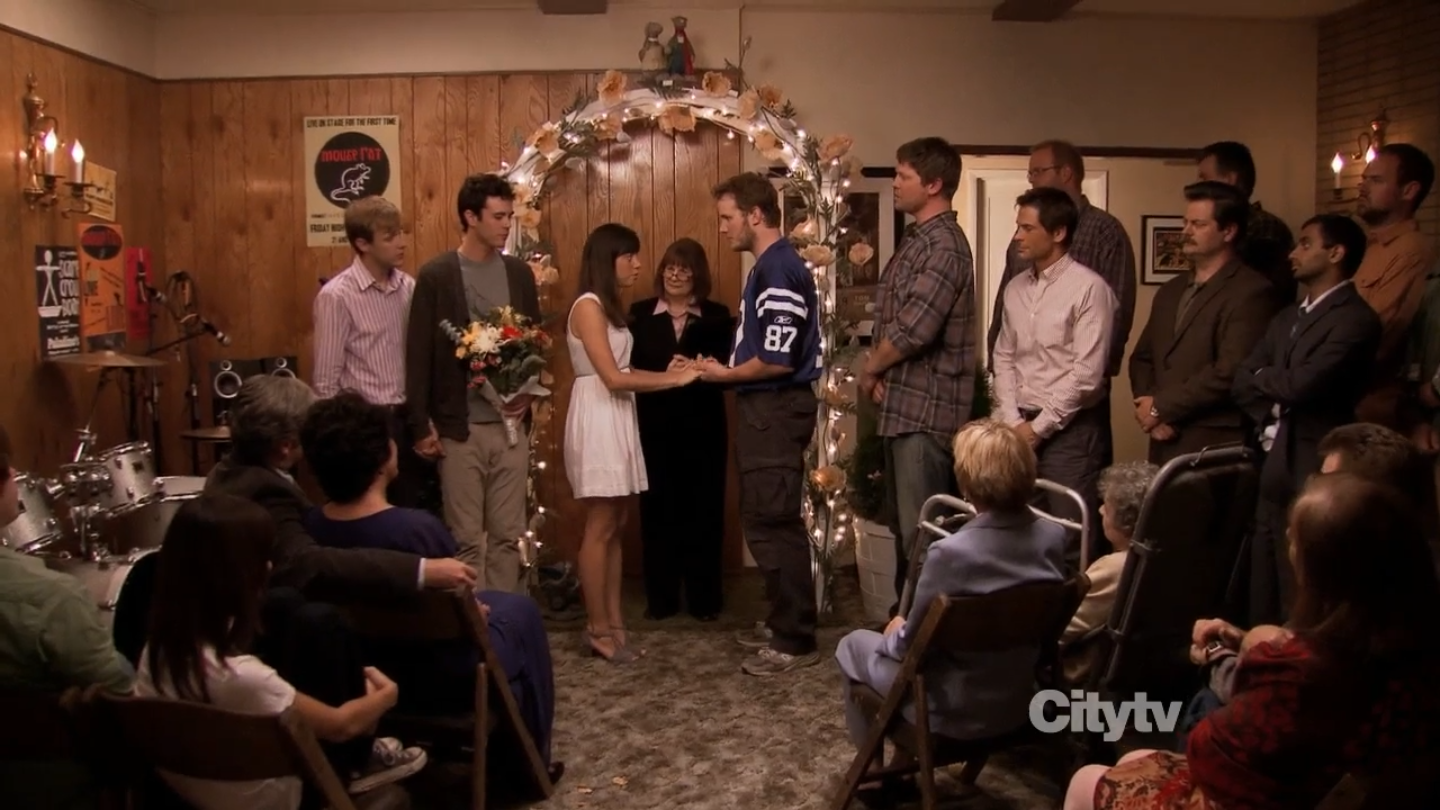 April and Andy\'s Fancy Party | Parks and Recreation Wiki | FANDOM ...