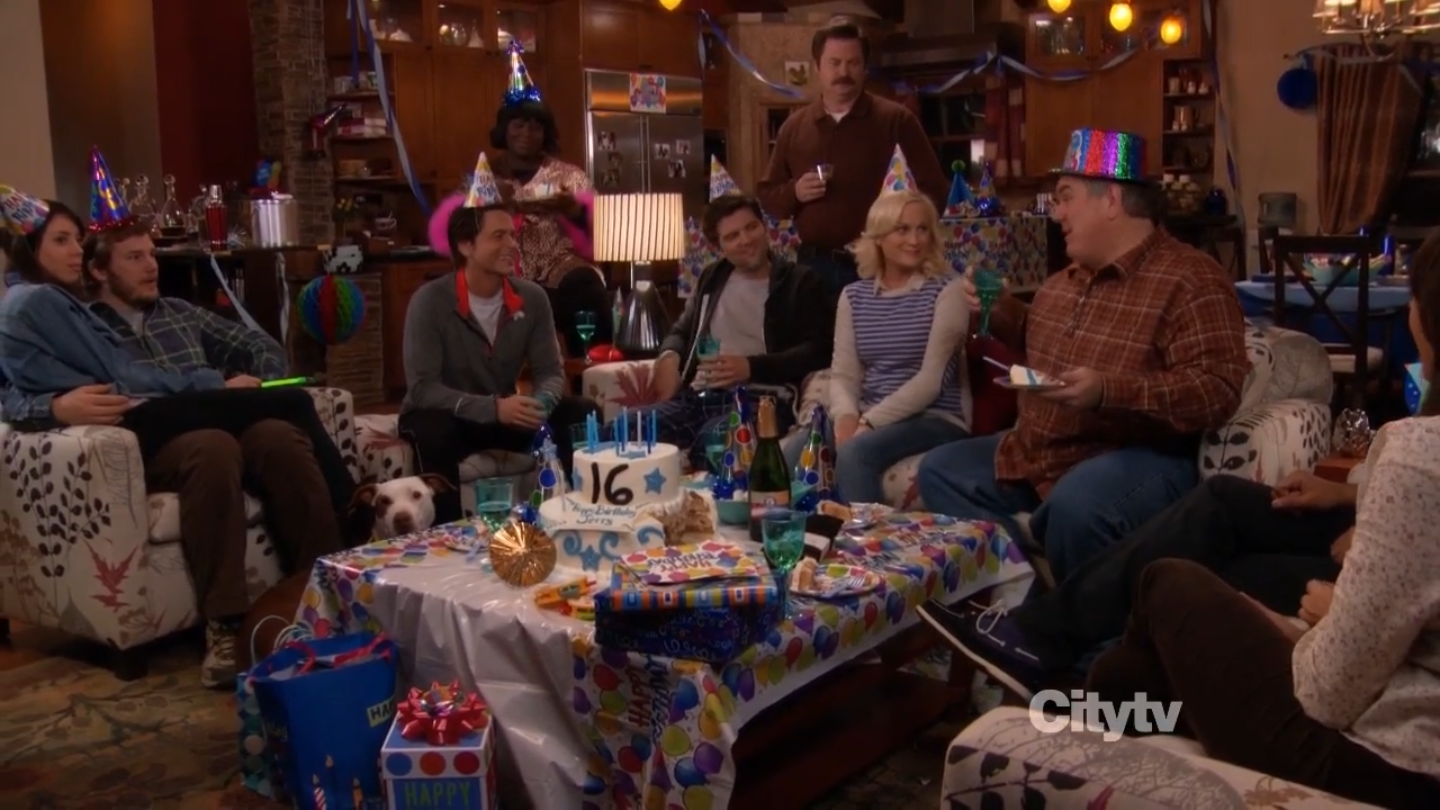 Sweet Sixteen | Parks and Recreation Wiki | FANDOM powered by Wikia