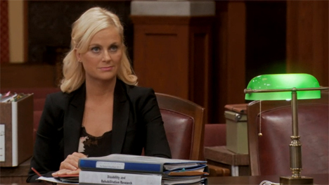 Leslie knope dating history