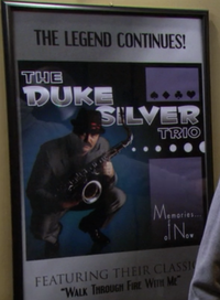Duke Silver Poster