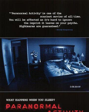 Paranormal Activity | Paranormal Activity Wiki | Fandom