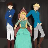 Le trio Fitz Sophie Keefe