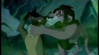 Scar, I just can't wait to be king
