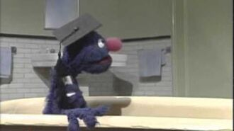 Sesame Street Professor Roosevelt Franklin Tub Tips