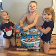 3D Action Family Pool Review