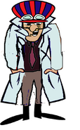 Dick Dastardly as Dr Z