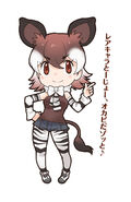 Okapi.(Kemono.Friends).full.2125870