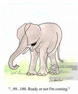 Animals-elephant-ears-dumbo-hide and seek-playing-twa0126 low