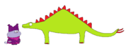 Chowder meets Stegosaurus