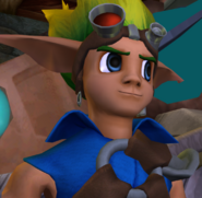Jak close up