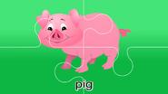 Nursery Tracks Pig