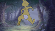 Rabbit runs in the hundred acre wood