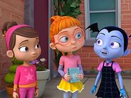 Vampirina, Bridget, and Poppy