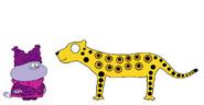 Chowder meets Jaguar