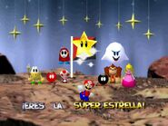 Mario party 64 mario peach dk koopa tropa boo toad fly guy Bob-omb and Bob-omb Buddy in wario war zone with a flag
