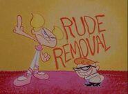 Rude Removal