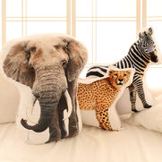 Elephant Cheetah Zebra
