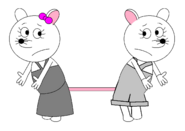Marie and Priscillia Pollyanna (Possums 3 and 4)